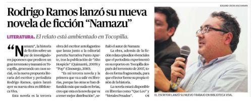 El Mercurio de Antofagasta, 17.08.2013