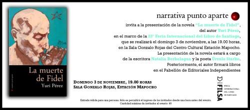 INVITACION_LA MUERTE DE FIDEL_FILSA 2013